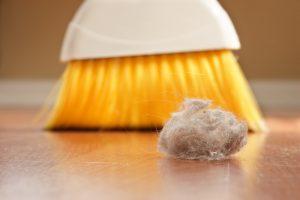 как победить пыль