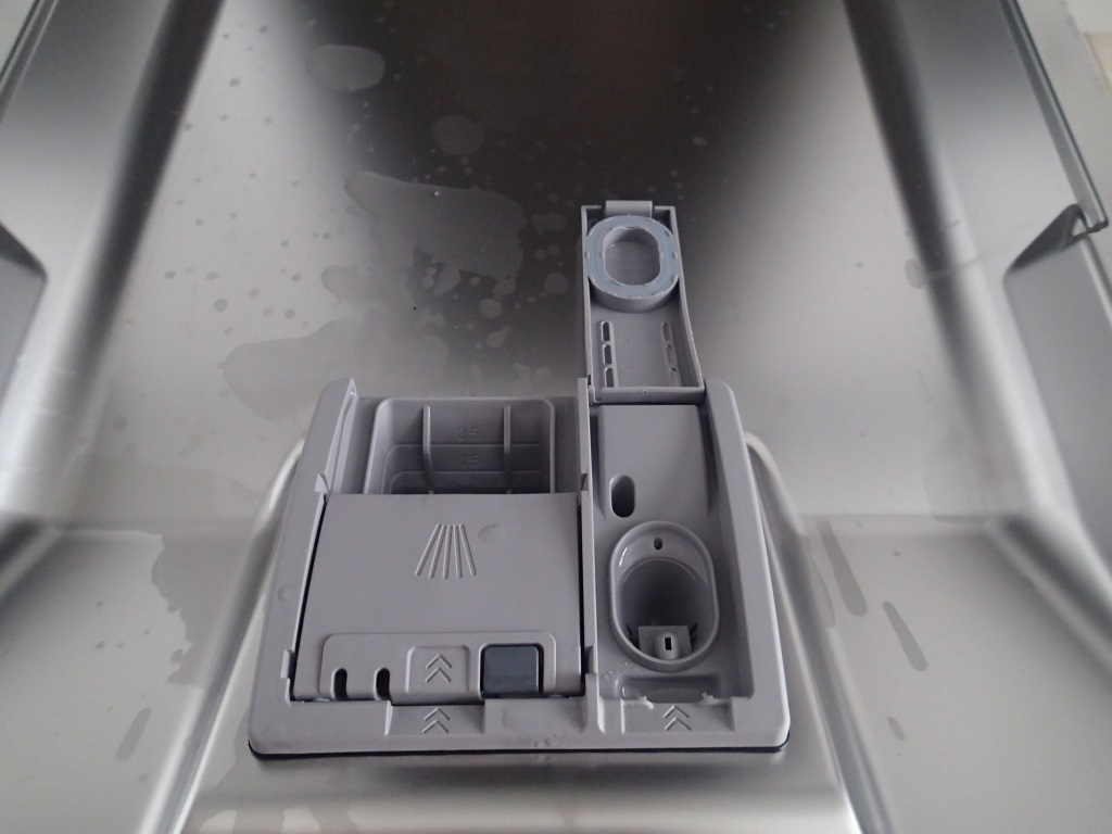 Отсек посудомоечной машины