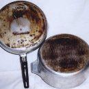 Можно ли использовать металлическую мочалку для очистки алюминиевых кастрюль?
