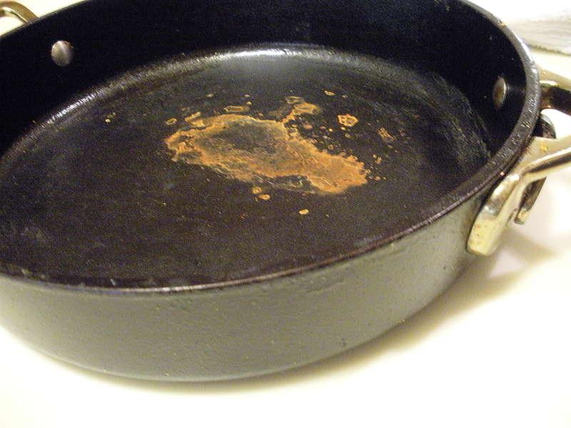 Ржавая сковорода