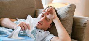 Больной гриппом