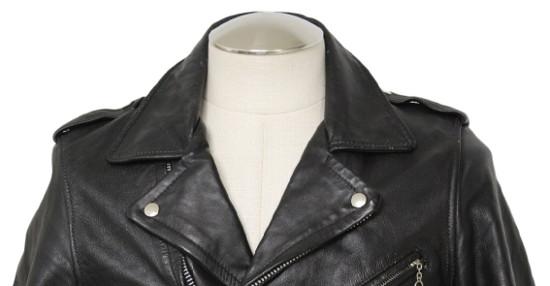 Воротник кожаной куртки