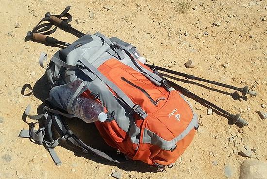 Как отстирать рюкзак