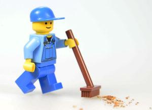Как чистить конструктор Lego